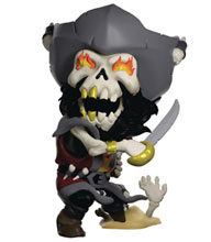 Image: Sea of Thieves Vinyl Figure: Captain Flameheart  (4.3-inch) - Youtooz, Inc