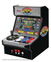 Image: Micro Arcade Player: Street Fighter II Champion Edition  (7.5-inch) - Dreamgear LLC