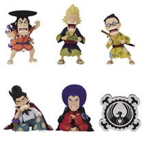 Image: One Piece Wano Country Kaisouhen 1 Coll 12-Piece Blind Mystery Box Figure Assortment  - Banpresto