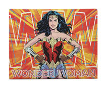 Image: DC Heroes Wall Art - Canvas: Wonder Woman  (15.5-inch) - Open Road Brands LLC