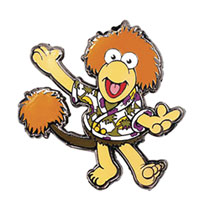 Image: Fraggle Rock Enamel Pin: Wembley Fraggle  (1.25-inch) - Little Shop of Pins