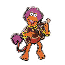 Image: Fraggle Rock Enamel Pin: Gobo Fraggle  (1.25-inch) - Little Shop of Pins