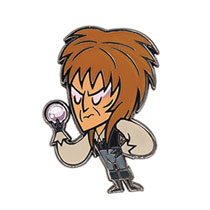 Image: Labyrinth Enamel Pin: The Goblin King  (1.5-inch) - Little Shop of Pins