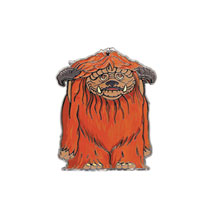 Image: Labyrinth Enamel Pin: Ludo  (2-inch) - Little Shop of Pins