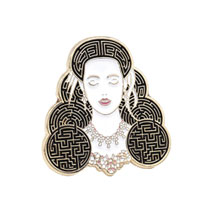 Image: Labyrinth Enamel Pin: Sarah  (1.5-inch) - Little Shop of Pins