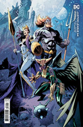 Image: Justice League #64 (variant card stock cover - Jason Howard) - DC Comics