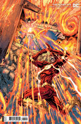 Image: Flash #772 (variant card stock cover - Brett Booth) - DC Comics