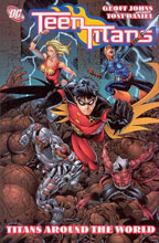 Image: Teen Titans Vol. 06: Titans Around the World SC  - DC Comics