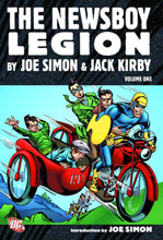 Image: Newsboy Legion by Simon and Kirby Vol. 01 HC  - DC Comics