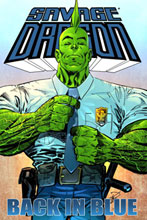 Image: Savage Dragon: Back in Blue SC  - Image Comics