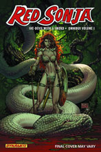 Image: Red Sonja Omnibus Vol. 01 SC  - D. E./Dynamite Entertainment