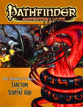 Image: Pathfinder Adventure: Serpents Skull #6 - Sanctum Serpent God  - Paizo Publishing LLC