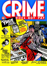 Image: Crime Does Not Pay Archives Vol. 01: Nos. 1-4 HC  - Dark Horse