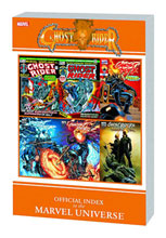 Image: Ghost Rider: Official Index to the Marvel Universe SC  - Marvel Comics