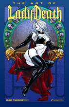 Image: Art of Lady Death Vol. 01 HC  (SDCC edition) - Boundless Comics