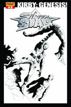 Image: Kirby: Genesis Silver Star #3 (15-copy B&W incentive cover) - D. E./Dynamite Entertainment