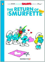 Image: Smurfs Vol. 10: Return of the Smurfette SC  - Papercutz