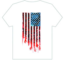 Image: Walking Dead T-Shirt: Flag  (XL) - Image Comics