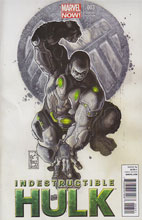 Image: Indestructible Hulk #3 (Now) (Bianchi variant cover) - Marvel Comics