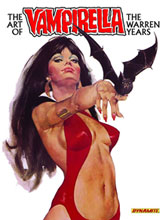 Image: Art of Vampirella: The Warren Years HC  - Dynamite