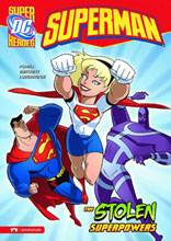 Image: DC Super Heroes Superman Young Readers: Stolen Superpowers SC  - Stone Arch Books