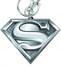 Image: Superman Symbol Pewter Keyring  - Dc Heroes Collectibles & Novelties