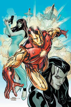Image: Iron Man #8 (Many Armors variant cover - Terry Dodson) - Marvel Comics
