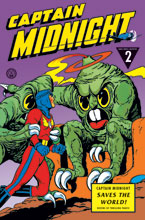 Image: Captain Midnight Archives Vol. 02: Captain Midnight Saves the World HC  - Dark Horse Comics