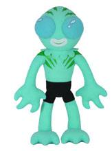 Image: Itty Bitty Hellboy Plush: Abe Sapien  - Dark Horse Comics