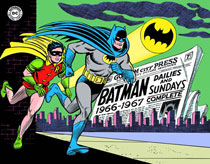Image: Batman: The Silver Age Newspaper Comics Vol. 01: 1966-1967 HC  - IDW Publishing
