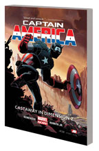 Image: Captain America Vol. 01: Castaway in Dimension Z Book 1 SC  - Marvel Comics