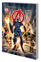 Image: Avengers Vol. 01: Avengers World SC  - Marvel Comics