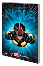 Image: Nova Vol. 01: Origin SC  - Marvel Comics