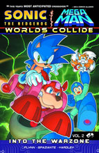 Image: Sonic / Mega Man Worlds Collide Vol. 02: Into the Warzone SC  - Archie Comic Publications