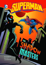 Image: DC Super Heroes Young Readers: Superman - The Shadow Masters SC  - Capstone Press