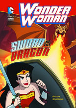 Image: DC Super Heroes Young Readers: Wonder Woman - Sword of the Dragon SC  - Capstone Press