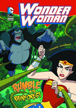Image: DC Super Heroes Young Readers: Wonder Woman - Rumble in the Rainforest SC  - Capstone Press