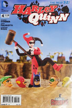 Image: Harley Quinn #4 (incentive cover - Robot Chicken) (25-copy)  [2014] - DC Comics