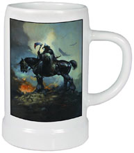 Image: Frazetta Ceramic Stein: Death Dealer  - Dark Horse Comics