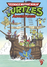 Image: Teenage Mutant Ninja Turtles Adventures Vol. 09 SC  - IDW Publishing