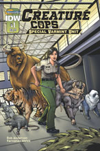 Image: Creature Cops: Special Varmint Unit #1 - IDW Publishing