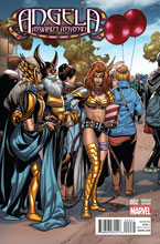 Image: Angela: Asgard's Assassin #2 (Larroca Welcome Home variant cover - 00231) - Marvel Comics