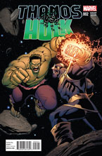 Image: Thanos vs. Hulk #2 (variant cover - Lim) - Marvel Comics