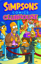Image: Simpsons Comics Clubhouse SC  - Bongo Comics