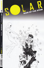 Image: Solar: Man of the Atom #10 (variant incentive cover - Lau B&W) (25-copy) - Dynamite