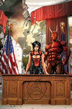 Image: Grimm Fairy Tales Presents Realm War: Age of Darkness Vol. 01 SC  - Zenescope Entertainment Inc
