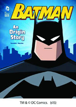 Image: DC Comics Super Heroes: Batman - An Origin Story SC  (young reader) - Capstone Publishing