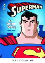 Image: DC Comics Super Heroes: Superman - An Origin Story SC  (young reader) - Capstone Publishing