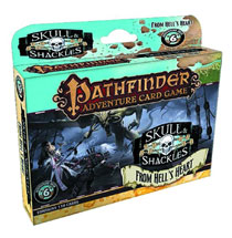 Image: Pathfinder Adventure Card Game: Skull & Shackles Adventure Deck 6: From Hell's Heart  -