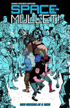 Image: Space-Mullet! Vol. 01: One Gamble at a Time SC  - Dark Horse Comics